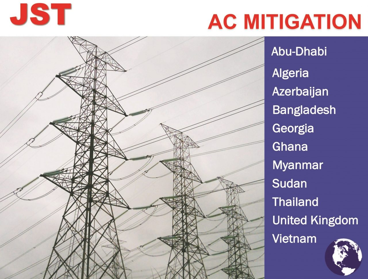 AC Mitigation Thailand,Cathodic Thailand,A.C. Mitigation,AC Interference,DC interference,Cathodic,Stray current,Cathodic Protection,Anode