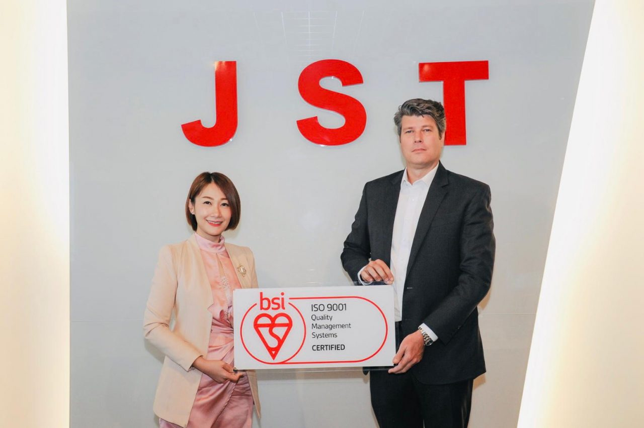 JST Group receives ISO9001:2015 certification