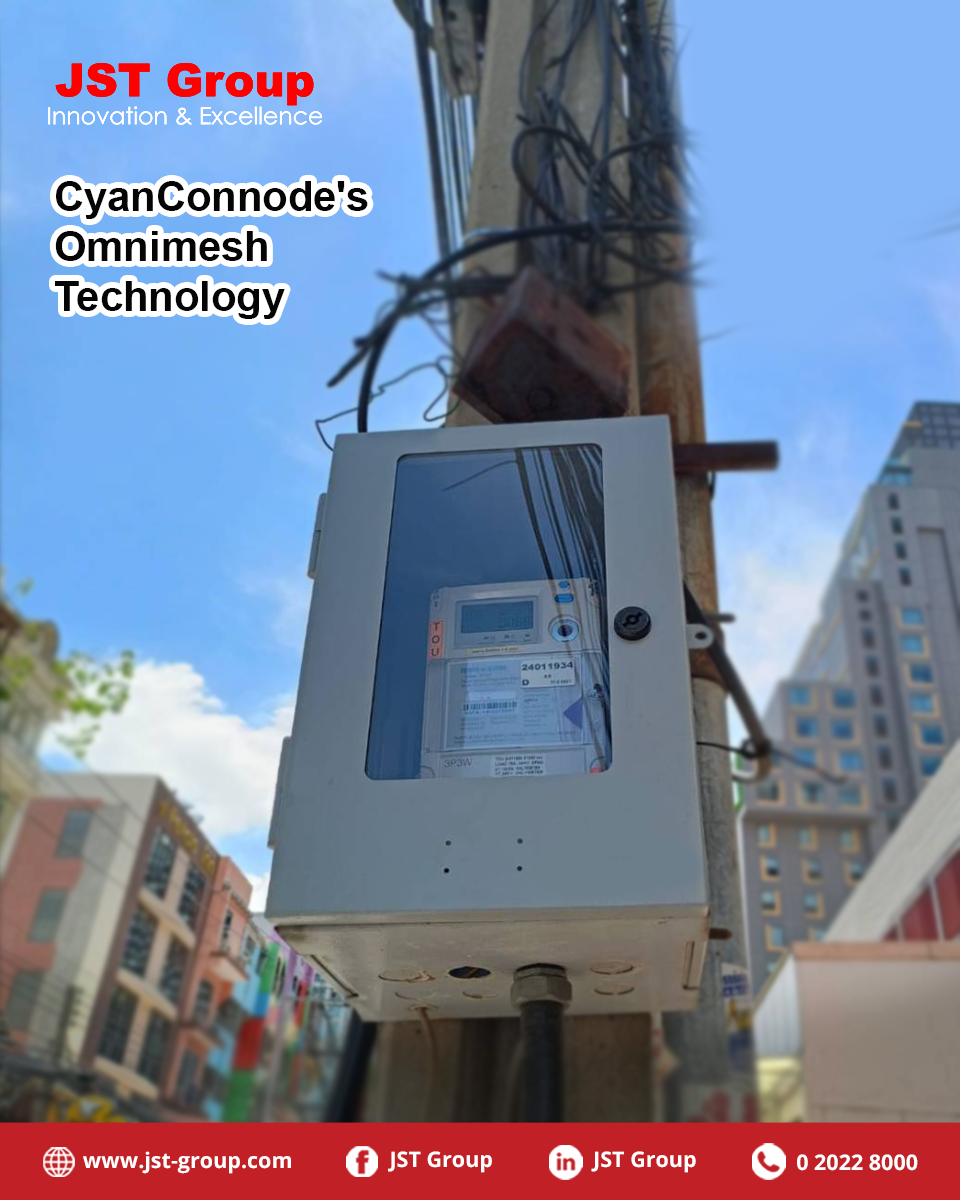 Over 17,000 Smart Meters using CyanConnode's Omnimesh Communications installed !!